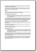 Amendments re LOF 2011