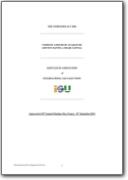 ISU articles of association